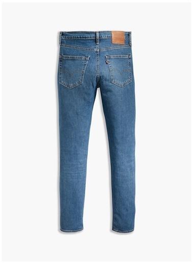 Levi's® Levis Mavi 512 Denim Pantolon İndigo